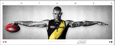 Dustin Martin Brownlow Medal Auto Wings Richmond Tigers Official AFL