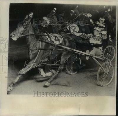 1951 Press Photo winner at National Pacing Derby at Roosevelt Raceway, New York