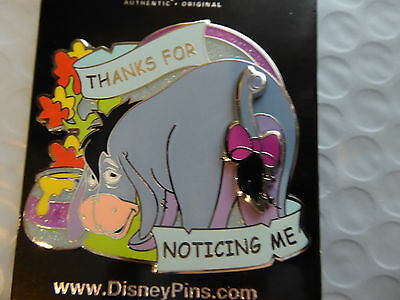 Disney Trading Pins 116568 Eeyore - Thanks for Noticing Me