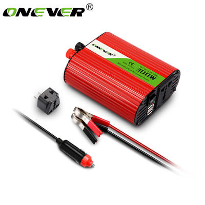 300W / 400W Car Power Inverter DC 110V Converter with 3.1A Dual USB Charger