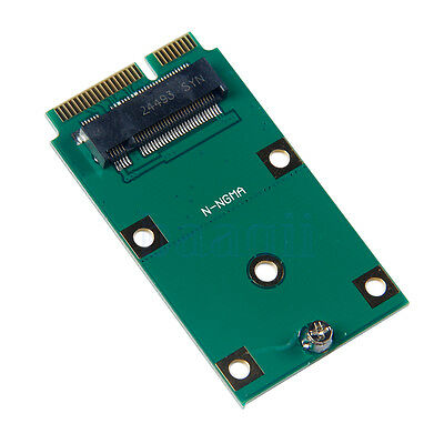 M.2 NGFF SSD Card Adapter mSATA PCIE Mini remplacement Converter BA