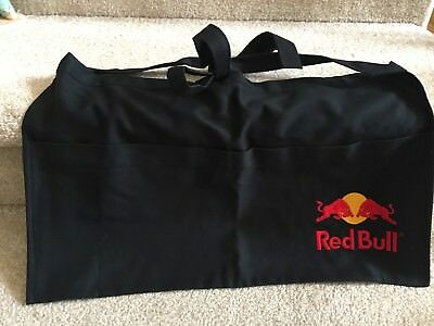 Red Bull Logo Embrodiered 4 Pocket Tie in Back Apron  Bartender Waiter Waitress