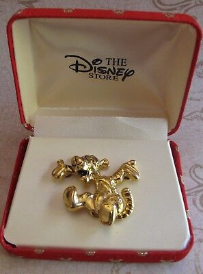 THE DISNEY STORE - TIGGER WITH ARTICULATED TAIL BROOCH - Winnie the Pooh