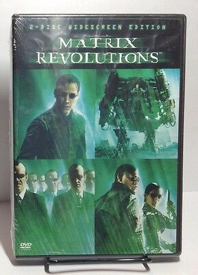 The Matrix Revolutions 2003(Two-Disc Widescr DVD)Brand NEW(Sealed)Free Shipping