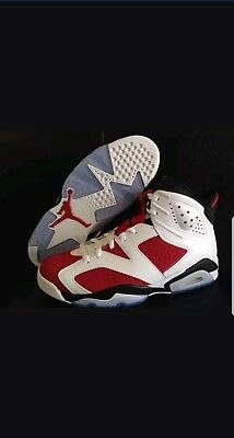 8fb82710e12b NIKE AIR JORDAN Retro 6 VI Premium Motorsport 395866 101 Size 10 DS ...