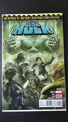 Totally Awesome Hulk #22 2nd Print NM 1st App Weapon H Marvel 2017
