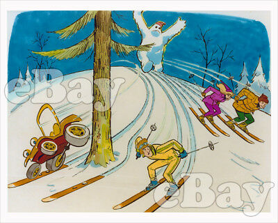 Rare! SPEED BUGGY Cartoon Color TV Photo HANNA BARBERA Studios CONCEPT ART