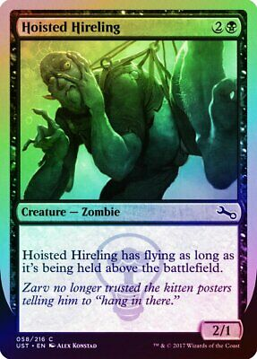 a Summer FOIL Unstable NM-M Black Common CARD ABUGames Extremely Slow Zombie