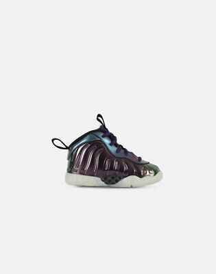 c3269d488a8c4 Nike Foamposite Lil Posite One Iridescent Pink Rush Blue Foams Toddler  Infant TD