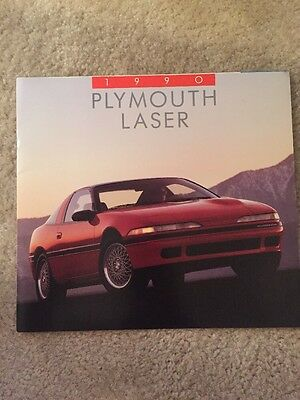 1990 Plymouth Laser Sales Brochure (Talon, Eclipse)
