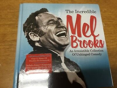 New: THE INCREDIBLE MEL BROOKS - An Irresistible Collection Of Unhinged Comedy