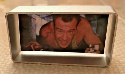 DIE HARD Bruce Willis Ornament / Desk Display.....Christmas decoration...AWESOME