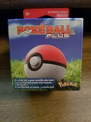 Pokeball Plus for Pokemon Let's Go Pikachu, Eevee Switch Game Nintendo Pokémon