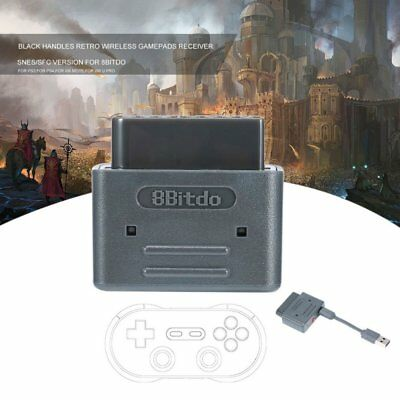 8Bitdo Mini Wireless Bluetooth Retro Receiver Gamepad for NES SNES SFC Wii DS