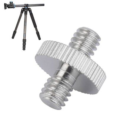 1/4 inch Male to 1/4 inch Male Camera Screw Adapter For Tripod Mount Holder RY
