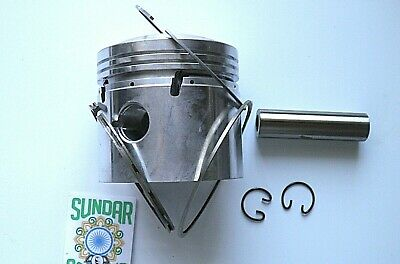 STANDARD PISTON SET AND RINGS. SUITABLE FOR THE ROYAL ENFIELD 350 cc BULLET