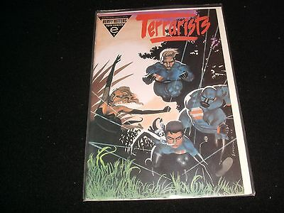 Terrarists Number 1<>Sealed<>Epic Comics~Heavy Hitters