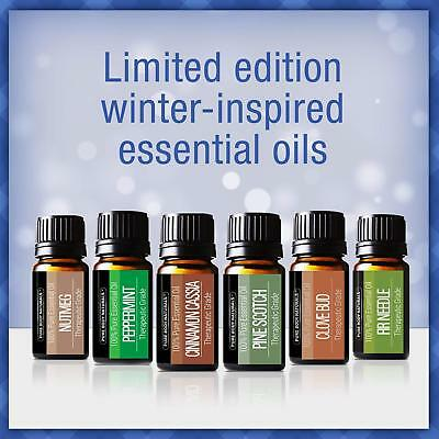 Limited Gift Set of 6 Classic Holiday Essential Oils 10ml 100% Pure Therapeutic