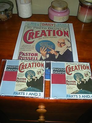 PHOTO-DRAMA OF CREATION on DVD Watchtower Jehovah IBSA JW.ORG
