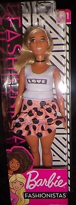 Barbie doll fashionistas No. 111,  latest release with Latino colouring & curvy.