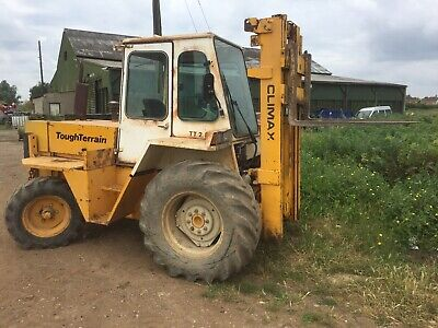coventry climax tough terrain forklift