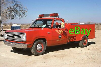 Fire Truck Photo Los Angeles County Dodge LACFD Patrol Engine Apparatus Madderom
