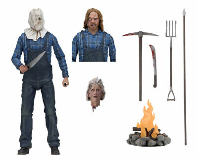 """NECA Friday the 13th Part 2 II Jason Voorhees Ultimate 7"""" Action Figure 1:12 New"""
