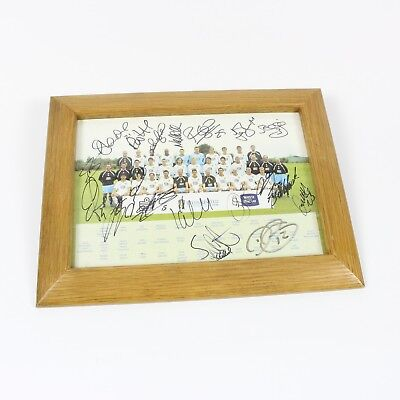 Leeds United 2005-06 Signed Team Photo Wood Frame Collectable