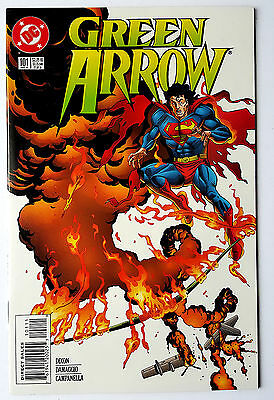 Green Arrow #101 (1995 DC) Death of Oliver Queen