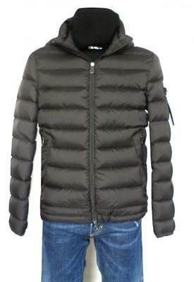PEUTEREY down jacket man hooded jacket FIDDLER CJ grey M