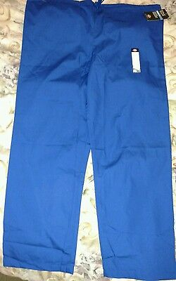 NEW DICKIES EDS Unisex fit CLASSIC MEDICAL scrub Pants GALAXY BLUE LARGE 850106