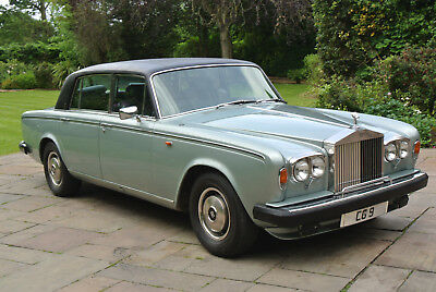 1979 ROLLS ROYCE SILVER WRAITH II only 18k miles last owner 30 years!