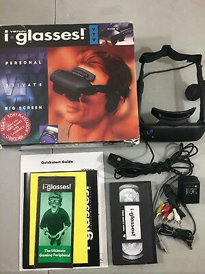 1995 Virtual i-O i-glasses Video Version Very Good Condition And In Original Box