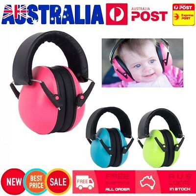 Autistic ASD Hypersensitive Infant Kids Children Defenders Noise Ear Muffs RY