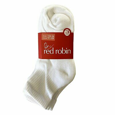 Red Robin Kids Ribbed Sports Socks - 3 Pack