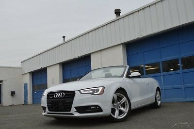 2015 Audi A5 2.0T Premium Full Power Leather Power Top LED Headlights Bluetooth Streaming Excellent Save