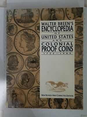 Walter breen encyclopedia united states &  colonial proof coins softcover338page