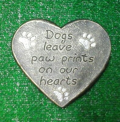 Dog Large Pet Memorial/headstone/stone/grave marker/memorial paw heart