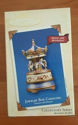 Hallmark Christmas ornament Jewelry Box Carousel 2003