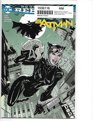 BATMAN #1 Midtown Exclusive Terry Dodson Catwoman Variant Cover DC 2016