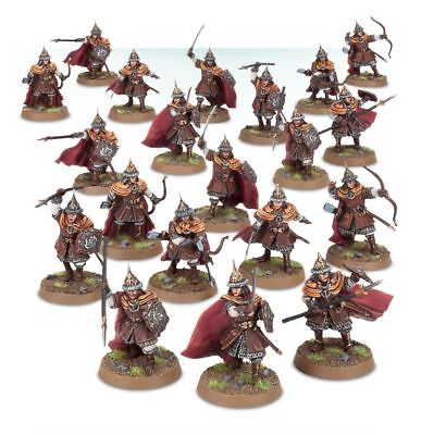 Warhammer Warriors of Dale The Lord of the Rings plastic new