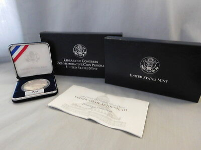 2000 Library of Congress Proof Commemorative Coin