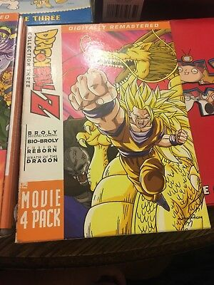 Dragon Ball Z: Movie Pack 4 [New DVD] Boxed Set Broly Pack And 5pack