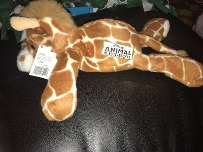 Disney Parks Animal Kingdom Plush Stuffed Baby Giraffe Lovey 15IN Brown Black
