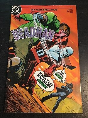 Deadman#4 Awesome Condition 8.0(1985) Neal Adams Art!!