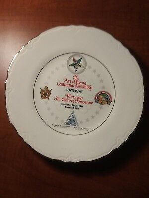 Masonic Freemason Order Of  Eastern Star  Plate