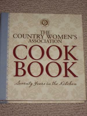 The Country Women's Association Cookbook 70 years kitchen  CWA Spiral Book HB