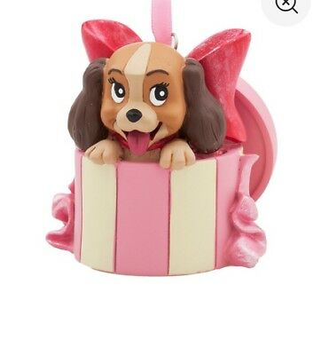 Lady from Lady and the Tramp Sketchbook Ornament Disney Store Christmas