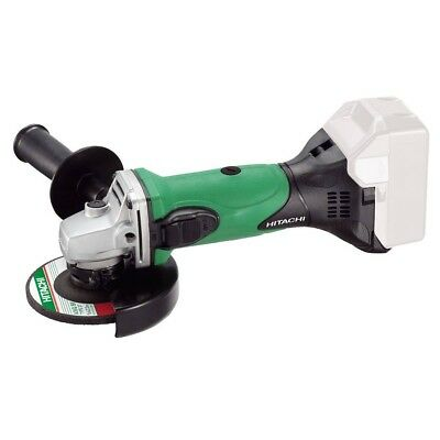 Hitachi Battery Grinder G18DSL/W4 NAKED 115MM 18V ANGLE GRINDER