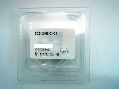 Brand New Genuine Rolex Sapphire Crystal 25-246-C-C1 Factory Sealed With Gaskets